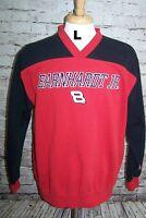 Dale Earnhardt Jr #8 Sweatshirt NASCAR Large Black Red Chase Authentic Racing