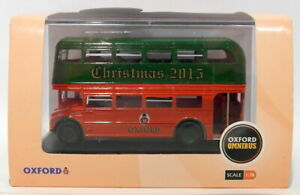 Oxford Diecast 1/76 Scale SP092 - Routemaster Double Deck Bus - Christmas 2015