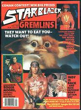 Starblazer 2 Magazine Conan the Destroyer 1984 Movie Schwarzenegger REH Gremlins