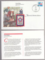 CAESAR RODNEY Independence 1971 Stamp FIRST DAY COVER FDC STAMP & SHEET