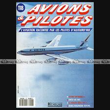 AVIONS & PILOTES N°118 BOEING KC-135R,  707 & MODEL 80 NIMROD MR MK 2P