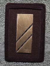 Finish Money Clip #3 Vintage Brass Or Bronze