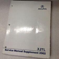 2012-2013 acura tl repair shop manual original 2 volume set.