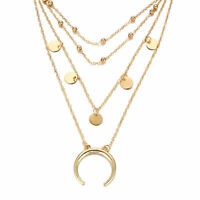 Fashion Charm Women Jewelry Choker Chunky Statement Bib Pendant Necklace Chain