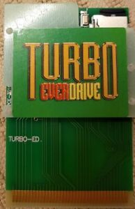 Turbo EverDrive (PC Engine,Turbo Duo,TurboGrafx 16,Turbo Express) USA SELLER