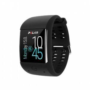 Polar SM - Smartwatch M600 Black - Sportuhr/Fitnessuhr in Schwarz - Android Wear