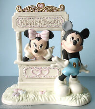 Lenox Disney Kisses For Mickey & Minnie Mouse Figurine at Kissing Booth New