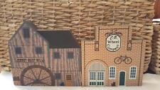 Cat's Meow Tradesman Series set of 2 C.O. Wheel Company Jenny Grist Mill 1988