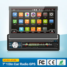 """2G+32G Android 6.0 1-DIN 7""""Touchscreen GPS Bluetooth USB SD Car radio video"""