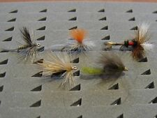 15 efímeras surtidas. Con muerte. Pesca a mosca. FLY FISHING (46)