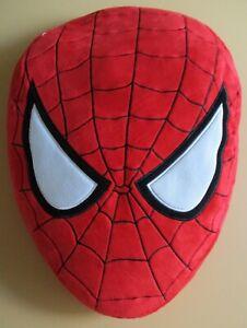 Spiderman oval head plush pillow