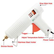 100W BEST Hot Melt Heat Glue Gun Adjustable Temperature Repair Tool 100-240V