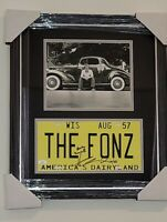 Henry Winkler  The Fonz Signed Autographed License Plate Custom Framed JSA