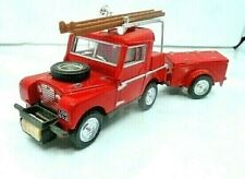 Matchbox Collectibles 1994 MOY 1952 Land Rover Fire Truck w/Trailer Pre-Owned