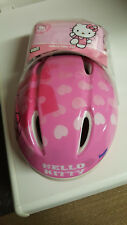"CASQUE + PROTEGE GENOU ET COUDE ""HELLO KITTY"" NEUFS"