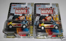 Maisto Ultimate Marvel Thor Cadillac Vizon Series 1 #11 of 25 Brand New 2 Total