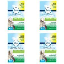 4 Pcs Febreze Vacuum Filter Bissell 1526 Pet Odor Eliminator Allergens Premium