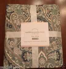 Pottery Barn MACKENNA PAISLEY, Duvet, Size Full.Queen, New Arrivals,W/ $99.00Tag