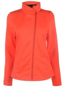 Spyder Allure Women's Ski Sweater Jumper Jacket Orange Size L Or XL New