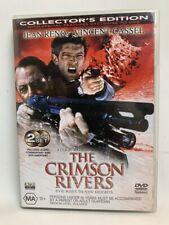 THE CRIMSON RIVERS rare 2 disc Directors Cut AU DVD French horror thriller