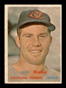 1957 Topps Set Break # 266 Ken Kuhn EX *OBGcards*