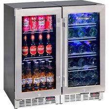BRAND NEW SCHMICK BEER & WINE COMBO GLASS DOOR BAR FRIDGE - 200 LITRES - INDOORS