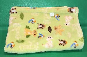 Disney Lion King Simba Nala Cub Baby Blanket Crib Nursery Security Green Timon