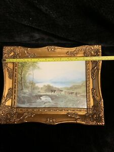 Framed Derwent Water / Lake District Pictures By Samuel Bough England 1822-1878