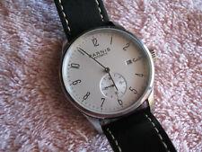 Parnis Bauhaus Style Automatic Watch Skeleton Back - Nice!