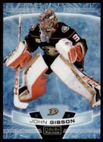 2019-20 OPC Platinum Arctic Freeze #60 John Gibson /99 - Anaheim Ducks