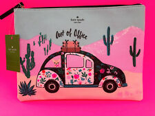 KATE SPADE Out of Office Gia Pouch Clutch Bag WLRU4913 NWT
