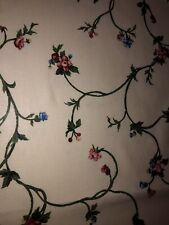 PRETTY COUNTRY CURTAINS VALANCE,PINK&BLUE FLORAL (2) AVAILABLE