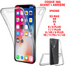 Coque Integrale 360 Protection Silicone Avant+Arriere iPhone XS MAX X XR 8 7 6 5