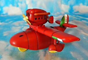 Porco Rosso SAVOIA S.21 FIRST EDITION PULL-BACK SEAPLANE Original Issue MIB