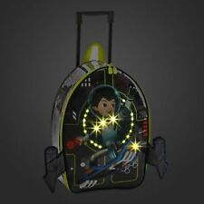New Disney Miles From Tomorrowland Light Up Suitcase Luggage Child Carry On