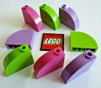 LEGO BRICK 1x3x2 Curved Top Bow (Pack of 4) Pick Colour Design 33243