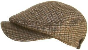 Christys' Crown Big Bill Longshoreman Newsboy Cap Euro Cut Ivy Scally Driver Hat