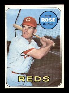 1969 Topps Set Break # 120 Pete Rose VG-EX *OBGcards*
