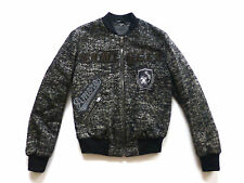 Dolce & Gabbana Mens Size 50 (M) Wool Blend Famiglia Patch Bomber Jacket New