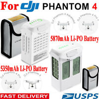 5870mAh / 5350mAh High Capacity Intelligent Battery For DJI Phantom 4 Pro Series