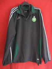 Felpa Adidas ASSE Saint-Etienne Vintage Verde antico Maglietta - 180 / L