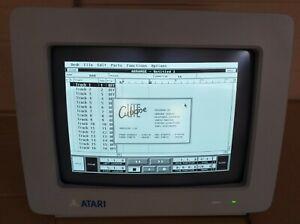 Atari 520 1040 ST STE Mega Computer SM 124 High Resolution Monitor BOXED Cubase