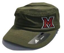 Cap Adidas Military Green Univ. Miami of Ohio, Olive Hat - Women's -