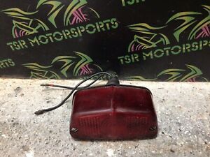 Motorcycle British Triumph, Bsa, Norton Rear Tail Light Unit (repaired Lense)