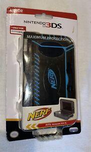 New Nintendo 3DS XL Maximum Protection NERF Armor Case- Black/Blue
