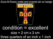 Badges/Pins Guns N 'Roses Memorabilia