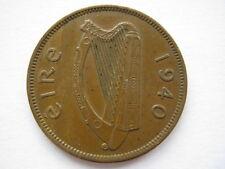 Ireland 1940 bronze Halfpenny, GVF.