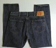 Levi's 501 Men's 38 x 30 Gray Button Fly Jeans Straight Fit Denim Cotton Red Tab