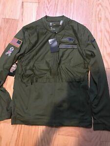 Nike NFL New England Patriots Salute To Service Hybrid Jacket AA9909-395 M BNWT