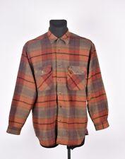 Lee Vintage Cálido Hombre Camisa TALLA L